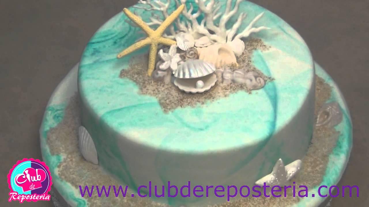 Como decorar tortas video curso youtube for Como decorar una torta facil y rapido