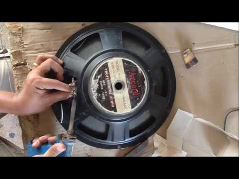 How fix Speaker Bass when Voice Coil broken | How to Change Voice Coil of Bass Speaker