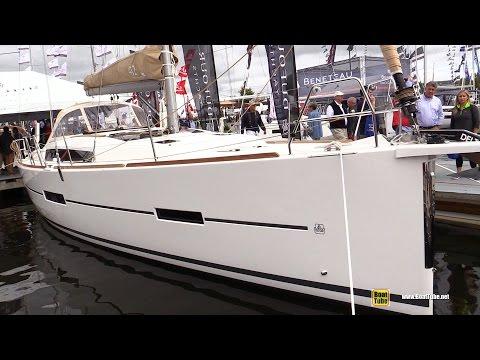 2017 Dufour 412 Grand Large Sailing Yacht - Deck Interior Walkaround - 2016 Annapolis Sailboat Show