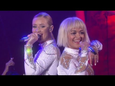 Iggy Azalea & Rita Ora Perform 'Black Widow' on Ellen