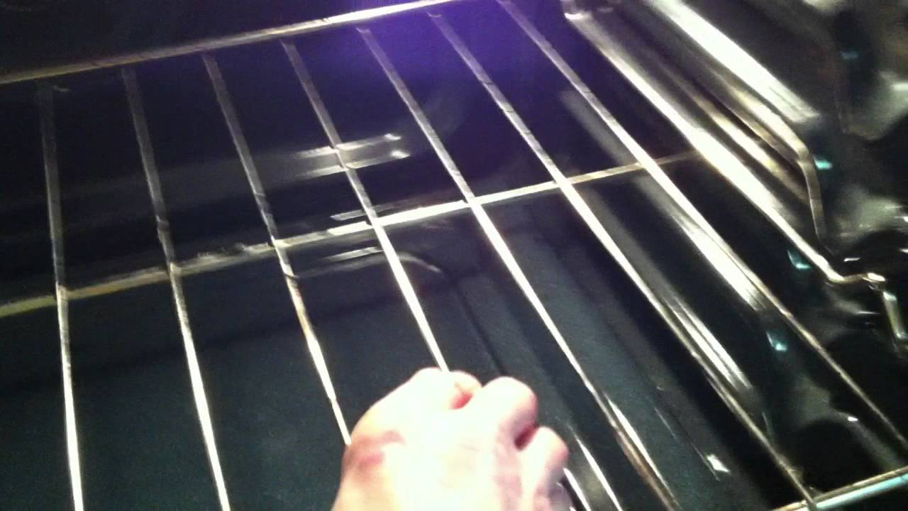 Oven Racks Fall In Maytag Range Youtube