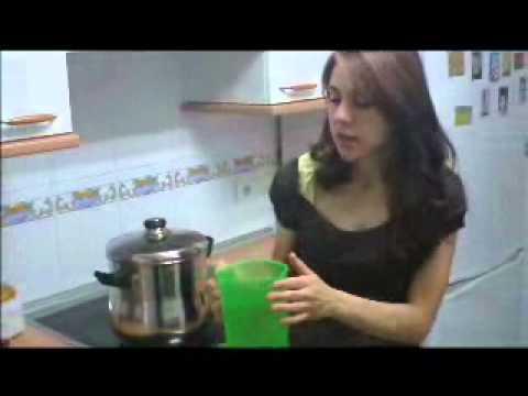Video receta de la receta del cous-Cous de Verduras y cordero parte 2/2