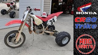Honda CR80 Trike Conversion