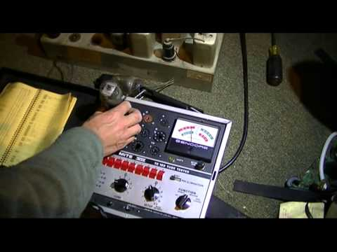 Western Air Patrol Tube Radio Testing and Diagnosis