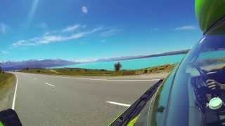 New Zealand South Island road trip 2013 GoPro