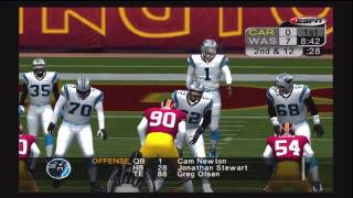 ESPN NFL 2K5 Football Week 15 Panthers @ Redskins MNF