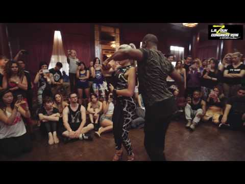 Leo + Becky - LA Zouk Congress 2016 - Demo - Sunday