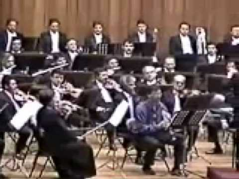 Diego Vega&#39;s 1st Clarinet Concerto - 1996 - Christopher Jepperson, clarinet