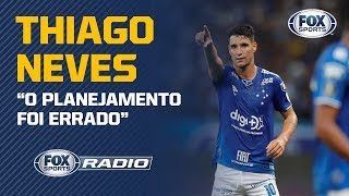 "'EU ESTOU SENDO BODE EXPIATÓRIO DO REBAIXAMENTO': Thiago Neves participa do ""FOX Sports Rádio"""