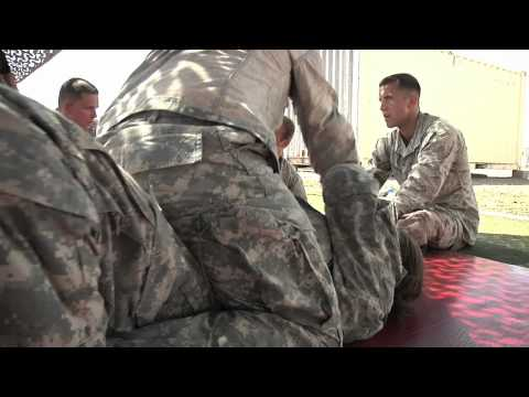 Task Force Raptor hosts Modern Army Combatives Level One Course