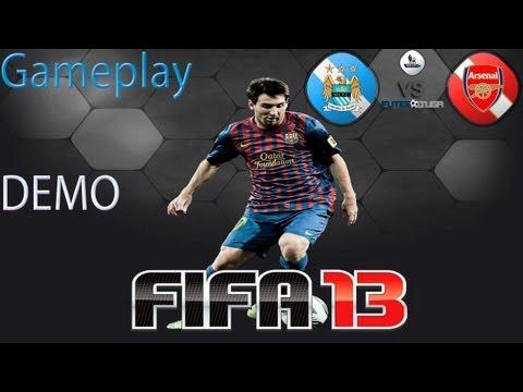 Fifa 13 - Isso que é jogo - Manchester City vs Arsenal - Full HD