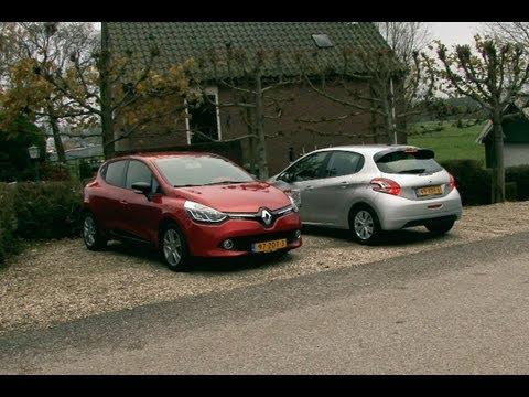Renault Clio vs Peugeot 208