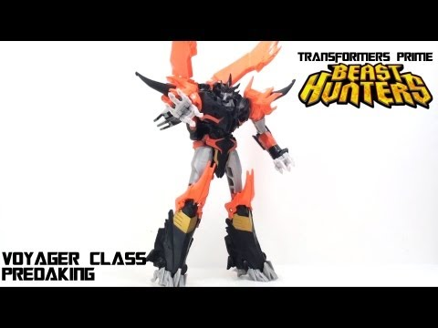 Video Review of the Transformers Prime: Beast Hunters Predaking