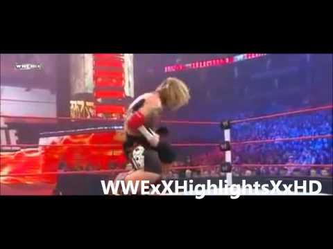 Edge Vs Dolph Ziggler Highlights HD - WWE Royal Rumble 2011