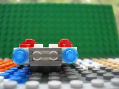 How To Make a Lego Mini Fire Truck