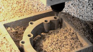 High-Z CNC Router : High speed machining / High speed routing HSC