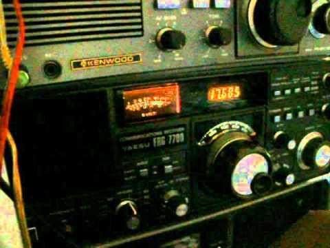 17685khz - Radio France International - portugese px - c/d
