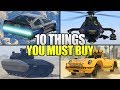 10 Things You MUST Buy From Doomsday Heist In GTA 5 Online!