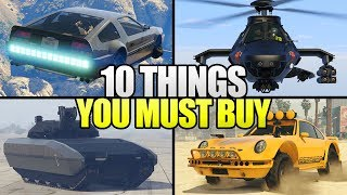 10 Things You MUST Buy From Doomsday Heist In GTA 5 Online!