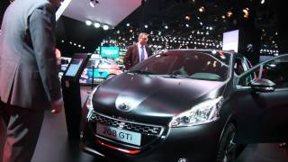 Peugeot al Salone di Parigi 2014 [live]