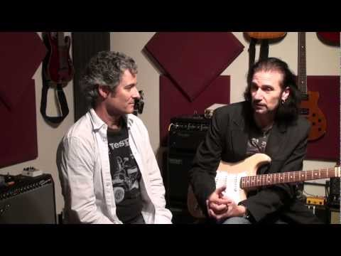 Bruce Kulick (Grand Funk Railroad / KISS) Visits Seymour Duncan