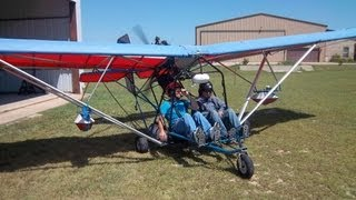 FLYING ULTRALIGHTS IN NORTH TX DFW LITE FLYERS CLUB LIGHT SPORT AIRCRAFT VIDEO