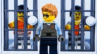 LEGO City Prison Break STOP MOTION LEGO City Catch The Crooks | LEGO City | By Billy Bricks