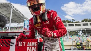 Charles Leclerc's Emotional F2 Weekend | 2017 Azerbaijan Grand Prix