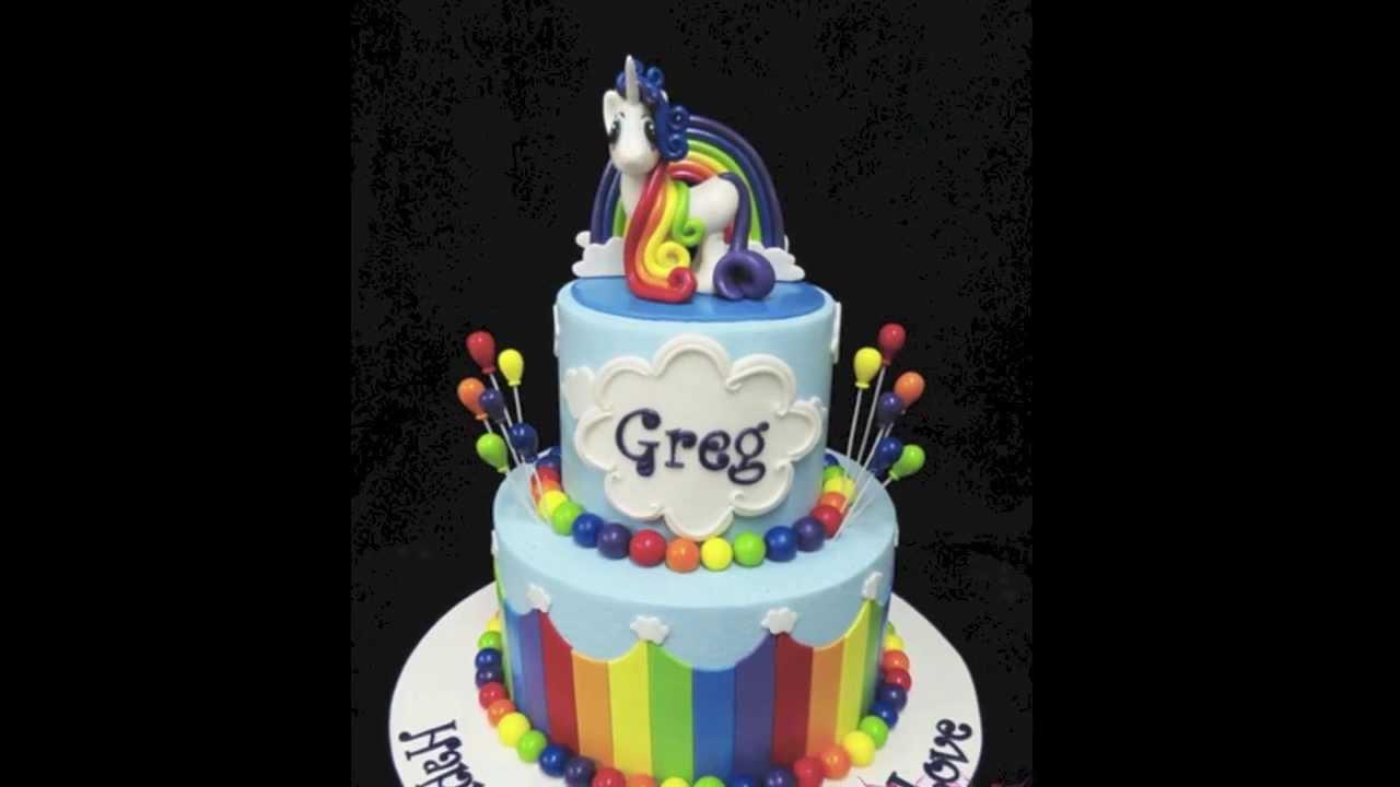 Base Rainbow Cake