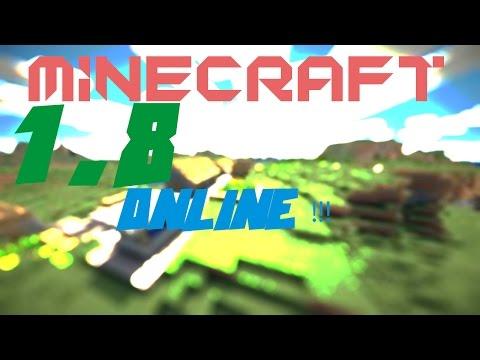 Como jogar Minecraft 1.8 Pirata online !