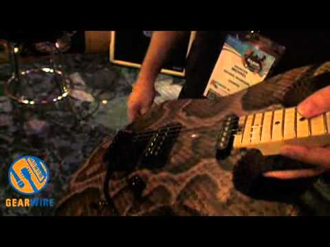 Charvel Custom Shop Warren DeMartini Signature Guitar: No Snakes Were Harmed In Its Making