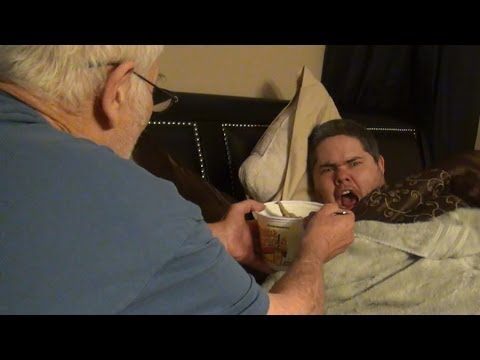 GRANDPA'S REVENGE! (Destroys Pickleboy's iPhone!)