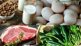 Top 10 vitamin A,B,C,D,E,K RICH FOODS/HEALTH TIPS