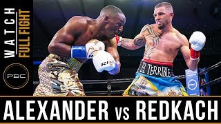 Alexander vs Redkach FULL FIGHT: PBC on FS1 - June 1, 2019
