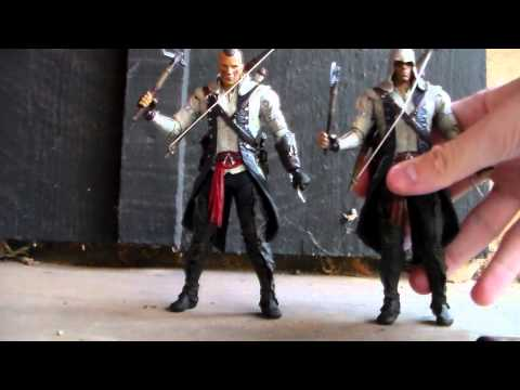 Assassins Creed III Connor with mohawk Action Figure Review (By McFarlane toys)