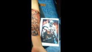 Robin Varol -Tattoo Viking warrior