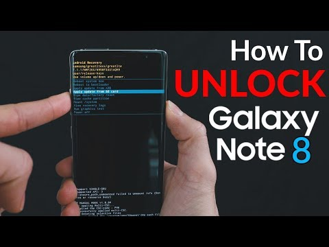 How to Unlock Samsung Galaxy Note 8 - Passcode & Carrier Unlock!   Hard Reset