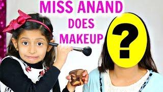 Meet 7 Year Old Makeup Artist - ft. MyMissAnand | ShrutiArjunAnand