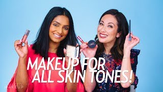 Makeup for Dark and Light Skin Tones with Deepica! | Beauty with Susan Yara