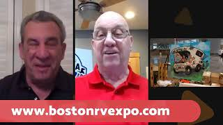 RVing in New England Talk Show - Boston RV Expo Begins!