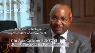 Pierre NKURUNZIZA : A MAN OF PEACE