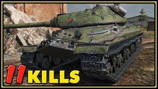 Object 257 - 11 Kills - 1 vs 5 - World of Tanks Gameplay