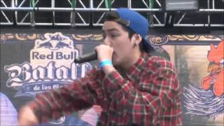 NITRO VS DISCAN | OCTAVOS RED BULL BATALLA DE LOS GALLOS FINAL NACIONAL CHILE 2015