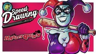 Harley quinn SpeedPaint !