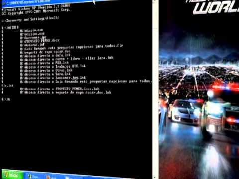 Eliminar virus de accesos directos en USB