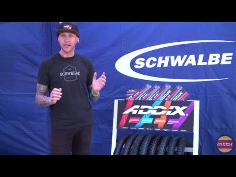 First look at Schwalbe's new Addix bike tire compounds