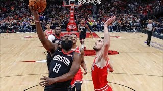 James Harden 42 Points vs Bulls! 2019-20 NBA Season