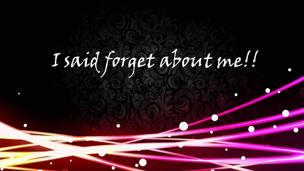 Songtext von Escape the Fate - Forget About Me Lyrics