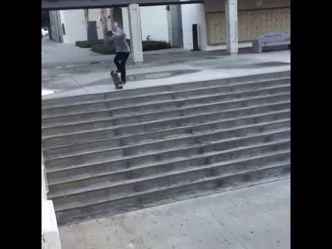 Huge nollie flip🔥down this OG set by @jeffdechesare 🎥: @madgreek_dre | Shralpin Skateboarding