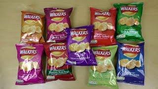 Walkers Crisps 9 Flavors Guide